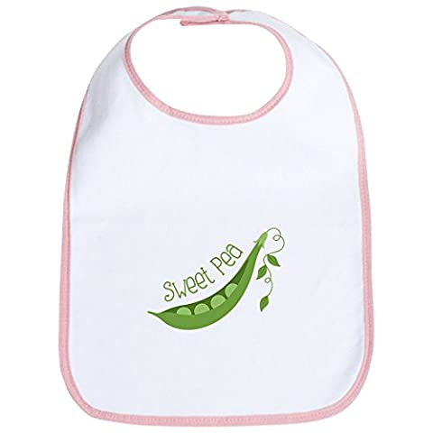 CafePress - Sweet Pea - Cute Cloth Baby Bib, Toddler Bib