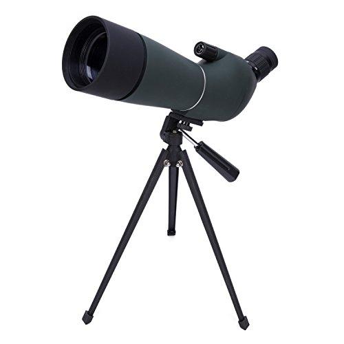 BABIMAX TELESCOPIO CON HD LENTE DE OPTICA TOTALMENTE RECUBIERTA 20-60X TELESCOPIO MONOCULAR IMPERMEABLE Y ANTINIEBLA CON TRIPODE