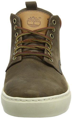 Timberland Ek2.0 Cupsl Chka, Baskets mode homme Marron (Dark Olive Roughcut)