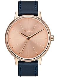 Nixon Unisex-Armbanduhr Kensington Analog Quarz Leder A108 - 2160-00