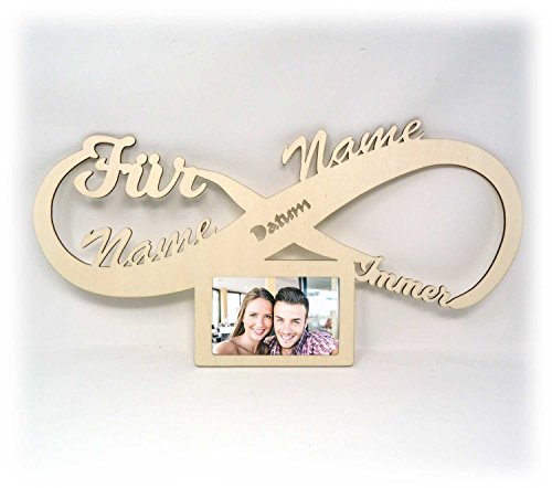 rrahmen Partner Hochzeit Verlobung Ich Liebe Dich Geschenke 10x15 cm Ehepaar Paar Pärchen Mann Frau Männer Frauen Freundin Freund Mutter Geschenk ()