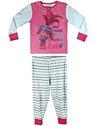 Trolls Poppy - pijama manga larga 2 piezas interlock 100% algodón (104cm-111cm