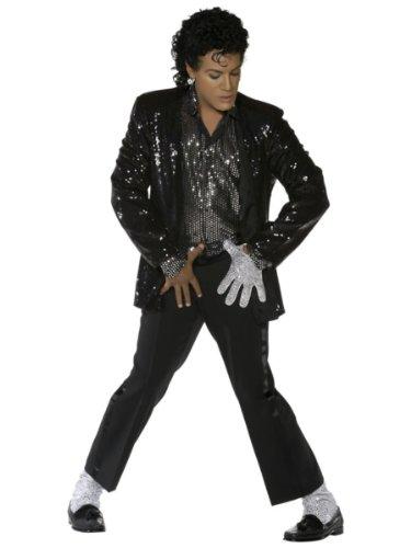 Michael Jackson®-Kostüm für Herren - L (Michael Jackson Perücke Kostüme)