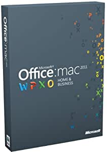 Office für Mac 2011 Home & Business (Multipack / englisch)