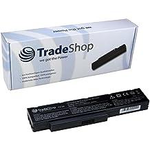 TradeShop - Batteria per laptop/notebook ad alte prestazioni 4400 mAh, ricambio per Fujitsu-Siemens SQU-809-F01 SQU-808-F01 SQU-808-F02 3UR18650-2-T0182, per Amilo Li3710 Li3910 Pi3560 Pi3660 Li-3710 Li-3910 Pi-3560 Pi-3660