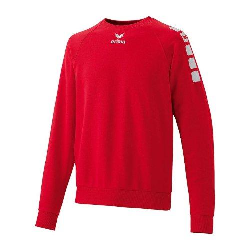 Erima Herren Torwart Sweatshirt 5-C, rot, XL, 607003