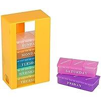 Morepack 21Fächer Weekly Pille Box für große, mittlere, kleine Größe, Pille, Vitamin, Nahrungsergänzungsmittel... preisvergleich bei billige-tabletten.eu