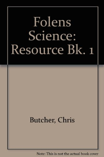 Folens science. Book one, Resource book