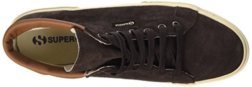 Superga 2204-Suem, Sneaker, Uomo K51 Dark Chocolate