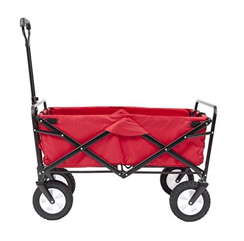 AK Sport WTC-109 RED - Wagon Foldable, rot (Wagon Sport Utility)