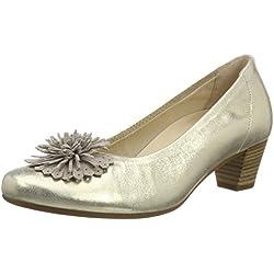 Gabor Shoes Damen Comfort Pumps, Silber (Platino/Puder 63), 39 EU