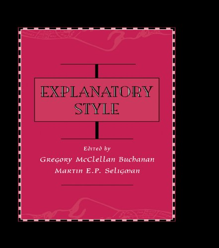 Explanatory Style (English Edition)