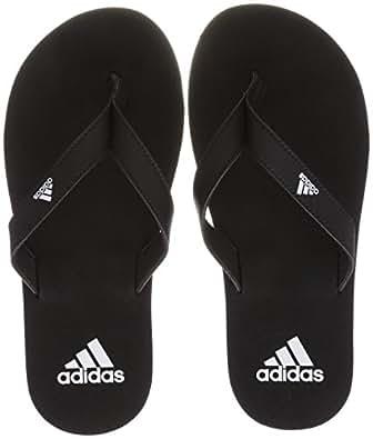 Adidas Eezay Flip Flop Scarpe da Spiaggia e Piscina Uomo, Nero (Negbas / Ftwbla 000), 40 1/2 EU (7 UK)