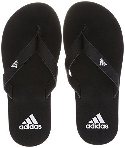 adidas Eezay Flip Flop, Herren Aqua Schuhe, Schwarz (Core Black/Core Black/Ftwr White), 43 EU