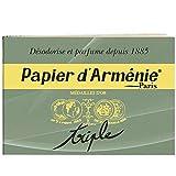 Papier d'Armenie 1 Block mit 12 Seiten (insg. 36 Streifen)