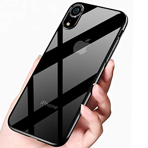 2. Tronisky - Funda iPhone XR de silicona transparente