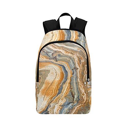 Schöne unregelmäßige Beschaffenheit des beiläufigen Daypack-Reisetaschen-Granats des Granits College-Schulrucksack für Männer und Frauen -