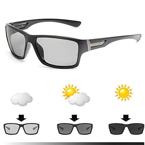 CCGSDJ Marca Gafas De Sol Fotocromáticas Hombres