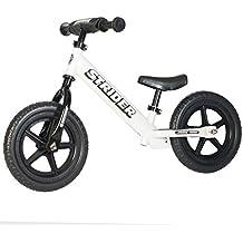 STRIDER 12 Sport Balance Bike, Bicicletta per Bambini, 18 Mesi - 5 Anni, Bianco