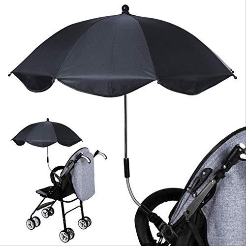 OKOC Regenschirm Abnehmbare Kinderwagen Regenschirm Verstellbar Baby Pram Kinderwagen Abdeckung Uv Strahlen Sonnenschirm Sonnenschirm Regenschutz c