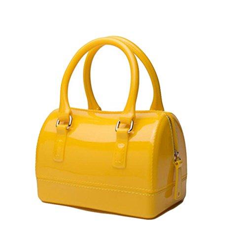 Handtaschen Kissen Tasche Tasche Süßigkeiten Tasche Handtasche Einfache Atmosphäre Elegant Yellow