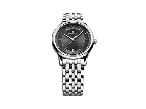 Maurice Lacroix Les Classiques orologio al quarzo, nero, 38mm, lc1237-ss002-330-1