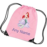 PERSONALISED BAG SWIM//SWIMMING//PE KIT//GYM//SCHOOL//NURSERY PINK//BLUE LADYBIRD