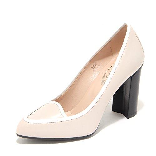 7878L decollete donna TOD'S scarpe shoes women Beige