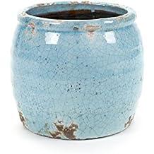 Suchergebnis auf f r blumentopf blau keramik for Blumentopf keramik