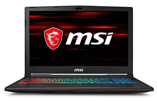 MSI Gaming MSI GP63 8RE-216IN 2018 15.6-inch Laptop (8th Gen Core i7-8750H/16GB/1TB/Windows 10/6GB Graphics), Black image