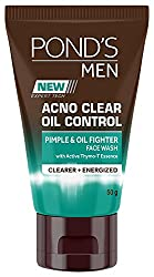 Ponds Men Acno Clear Oil Control Face Wash, 50g