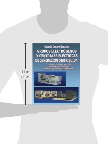 Grupos electrógenos y centrales eléctricas de generación distribuida/ Electrical generators and distributed generation power plants