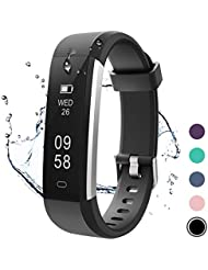 Letsfit Fitness Tracker, Activity Tracker IP67 Waterproof Pedometer Step Counter Watch, Sleep Tracker Monitor Smart Band Watch with Calorie Counter, Sport Watch For Women Kids and Men