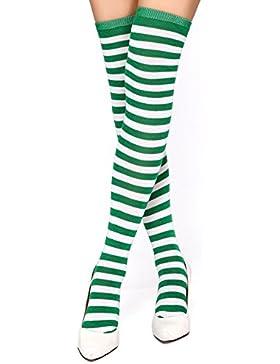 [Sponsorizzato]Krautwear® - Parigine da donna, per Carnevale, Cosplay anni 80, vari colori