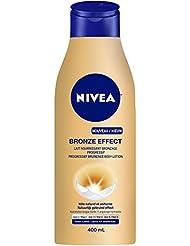 NIVEA Effet Bronze Lait Nourrissant Bronzage Progressif Peaux Claires 400 ml