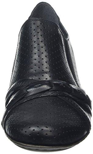 Rieker 41715-00, Escarpins femme Noir - Noir