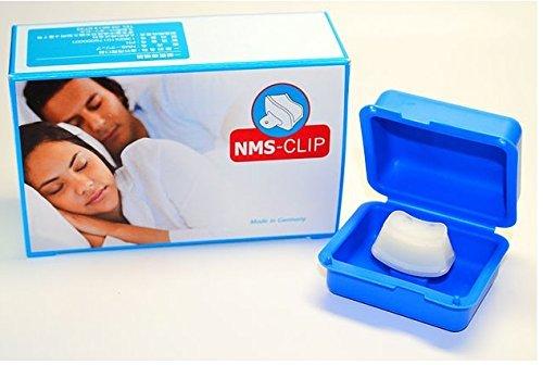 Antischnarchclip - NMS-CLIP - Kleiner Clip mit großer Wirkung