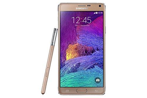 Preisvergleich Produktbild Samsung Galaxy Note 4 (Touch-Display,  3, 7 Megapixel Kamera,  Android,  Bluetooth 4.1) Gold