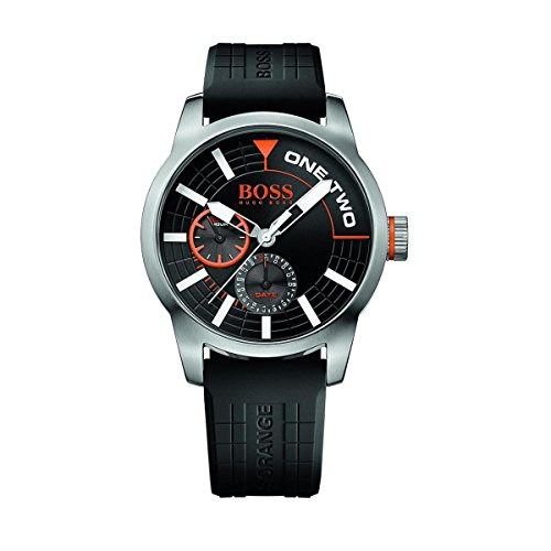 hugo-boss-orange-mens-watch-stainless-steel-wrist-watch-with-black-silicone-strap-waterproof-100m-sc