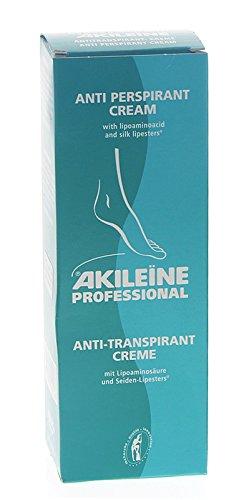 Akileine Grün, Deo-Biactif Anti-Transpirant Creme Schwitzen regulieren, Gerüche neutralisieren, 150ml, 150 ml