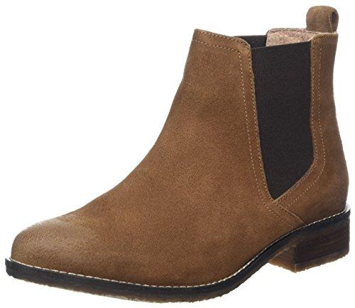 Fat Face Women's Newham Chelsea Boots, Brown (Tan), 6 UK 39 EU