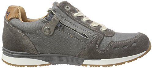 Bisgaard Unisex-Kinder Shoe with Laces Low-Top Grau (112 Pewter)