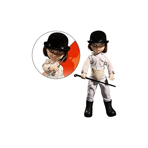 Living Dead Dolls 95090 Uhrwerk Figur, orange (Dead Film Doll)