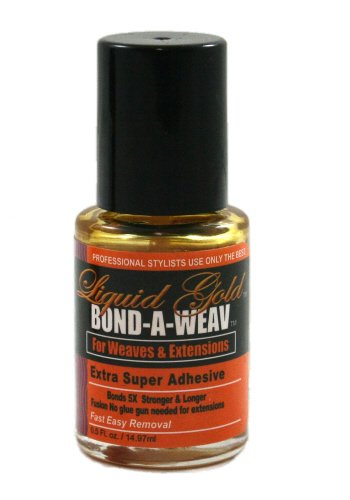 Liquid Gold Super Bond/Glue 4 Weaves Adhesive 1/2 oz
