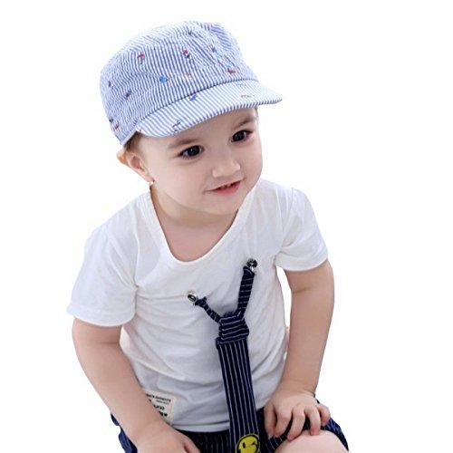 Fancyland Schiebermütze Kinder UV-Schutz Baby Mütze Schiebermütze Sommer Kappe