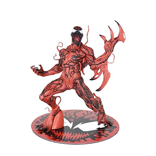 nds Carnage Action Figure 6 Zoll, Carnage PVC Spielzeug Modell Dekoration Statue - Magnetfuß ()