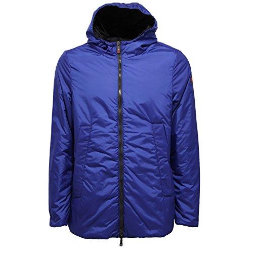 0723V piumino uomo OOF OOFWEAR REVERSIBLE black/blue jacket men Nero/Blu
