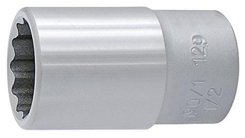Unior 9603819 940 Douille à 12, 1/5,1 cm, 17 mm
