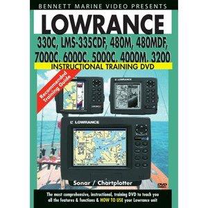 BENNETT DVD LOWRANCE PLOTTERS 330 335 480 Lowrance Plotter