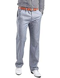 HOEREV Linge de Mens été décontractés pantalons, pantalons décontractés